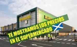 Vivir en Escocia: Precios en en el supermercado