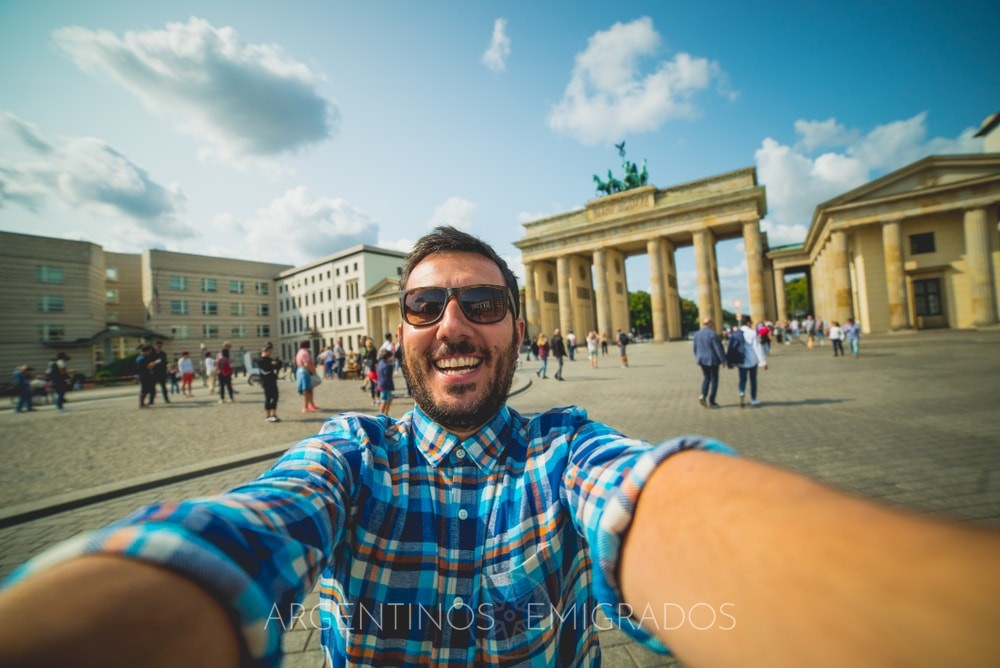 César, un argentino que estudia y vive en Berlín